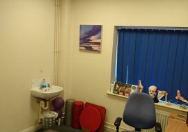 Our Chiropractic Treatment Room At The Chiropractic Clinic, Llandarcy Academy Of Sport